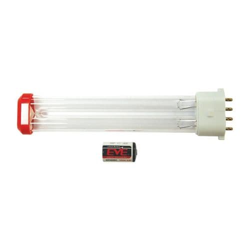 FE696 HyGenikx System Replacement Lamp and Battery Red Cap HGX-30-S